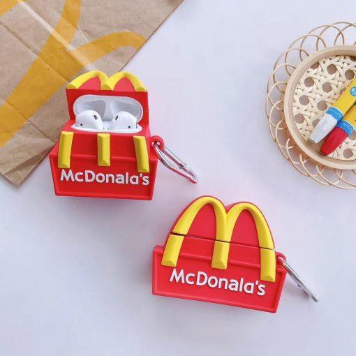 McDonald's Logo Premium AirPods Case Shock Proof Cover