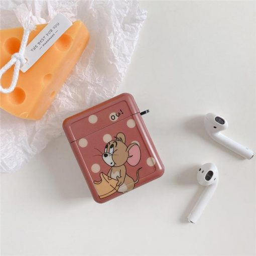 Tom and Jerry 'What | Ou | Modular' AirPods Case Shock Proof Cover