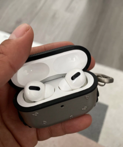 Metal Silicone AirPods Pro Case Shock Proof Cover