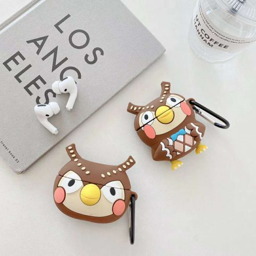 Animal Crossing 'Blathers' Premium AirPods Case Shock Proof Cover