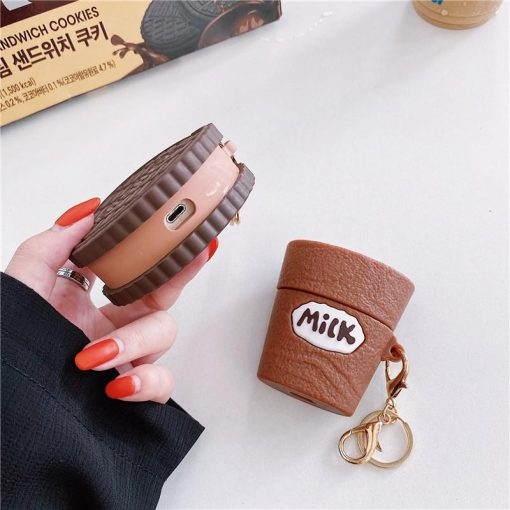 Hershey's Milk Chocolate and Peanut Butter AirPods Case Shock Proof Cover