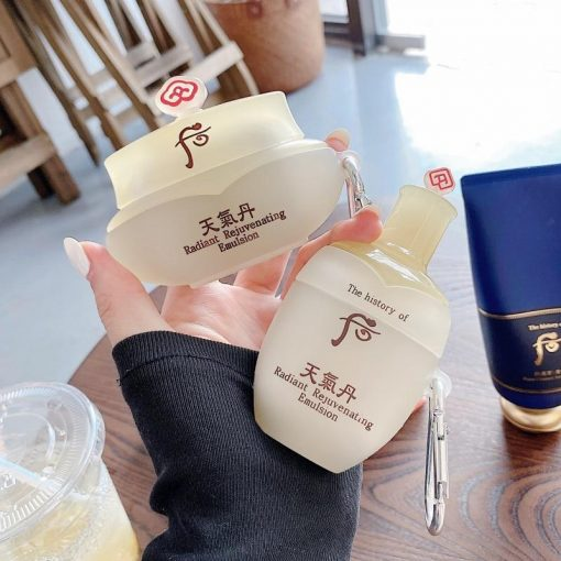 Japanese Brand Cream Face Lotion Premium AirPods Pro Case Shock Proof Cover