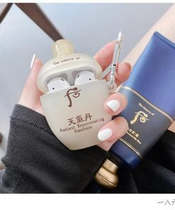 Japanese Brand Cream Face Lotion Premium AirPods Case Shock Proof Cover