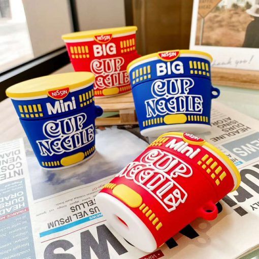Big Cup Noodles Instant Noodles Premium AirPods Pro Case Shock Proof Cover