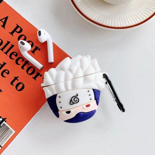 Naruto 'Kakashi Hatake | 2.0' Premium AirPods Case Shock Proof Cover