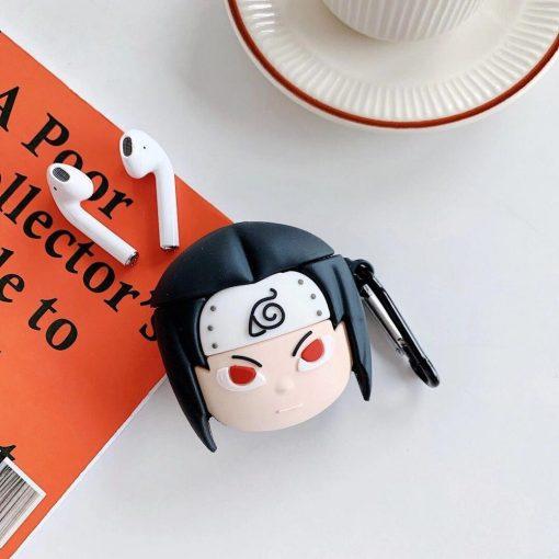 Naruto 'Uchiha   Sharingan  2.0' Premium AirPods Case Shock Proof Cover
