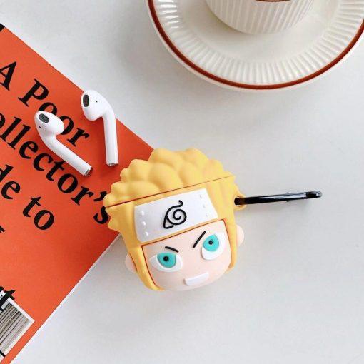 Naruto 'Menma Uzumaki | 2.0' Premium AirPods Case Shock Proof Cover