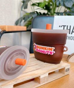 Dunkin Donuts Iced Coffee Premium AirPods Case Shock Proof Cover