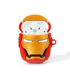 Iron Man 'Helmet | 2.0' Premium AirPods Case Shock Proof Cover