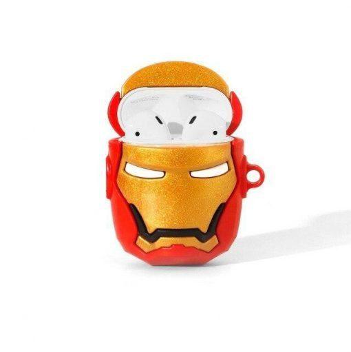 Iron Man 'Helmet   2.0' Premium AirPods Case Shock Proof Cover