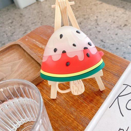 Watermelon Ice Cream Premium AirPods Pro Case Shock Proof Cover