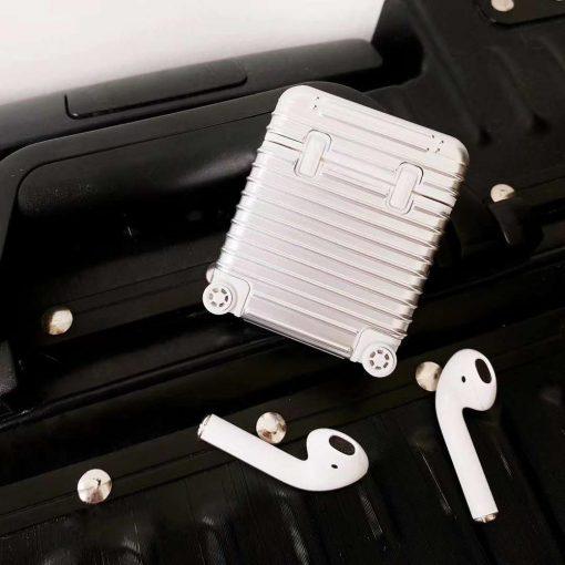 Hard Case Suitcase Premium AirPods Case Shock Proof Cover
