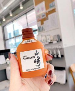 Japanese The Yamazaki Brand Whiskey Premium AirPods Case Shock Proof Cover