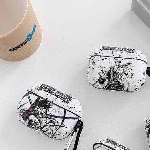 One Piece 'Zoro | Monochromatic' Premium AirPods Pro Case Shock Proof Cover