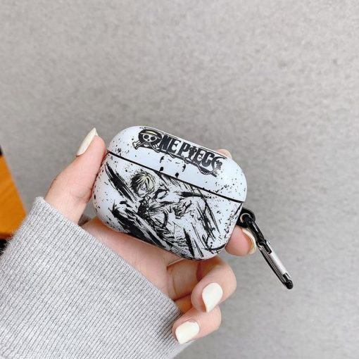 One Piece 'Sanji | Monochromatic' AirPods Pro Case Shock Proof Cover