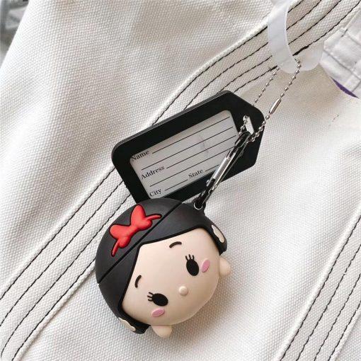 Snow White '3.0' Premium AirPods Case Shock Proof Cover