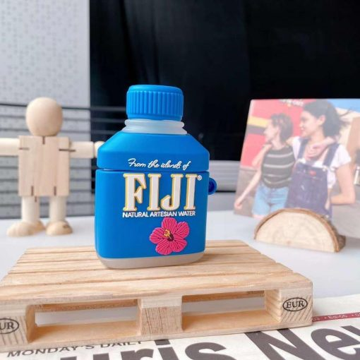 Fiji Water Premium AirPods Case Shock Proof Cover
