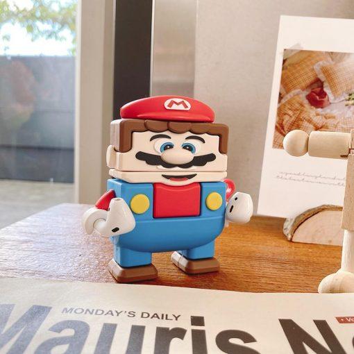 Super Mario Bros 'Lego   Block' Premium AirPods Case Shock Proof Cover