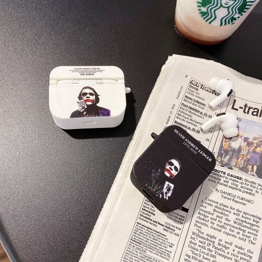 Joker 'Heath Ledger | RIP | Modular' AirPods Pro Case Shock Proof Cover
