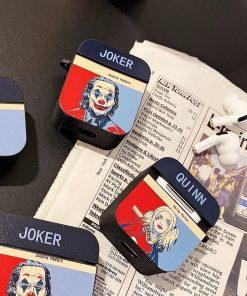 Joker ' Hope | Harley Quinn | Modular' AirPods Case Shock Proof Cover