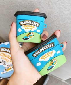 Ben and Jerry's 'Chunky Dunky | Pint' Premium AirPods Case Shock Proof Cover