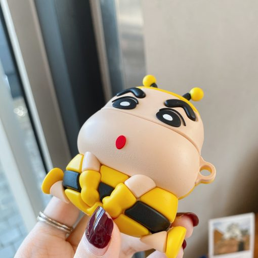 Shin Chan 'Bumblee' Premium AirPods Case Shock Proof Cover