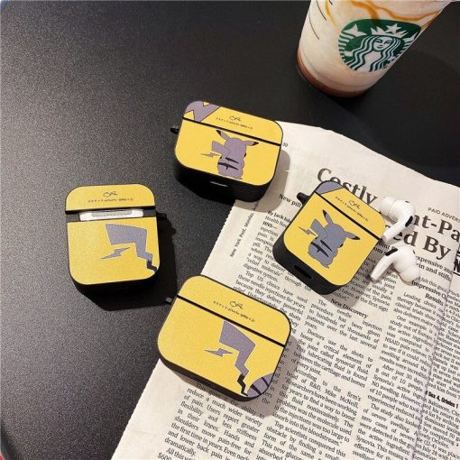 Pokemon 'Pikachu   Electric   Modular' AirPods Case Shock Proof Cover