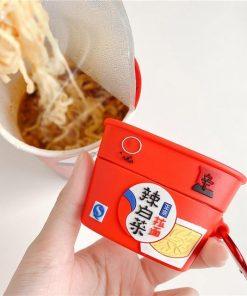 Korean Nongshim Kimchi Ramen Premium AirPods Pro Case Shock Proof Cover