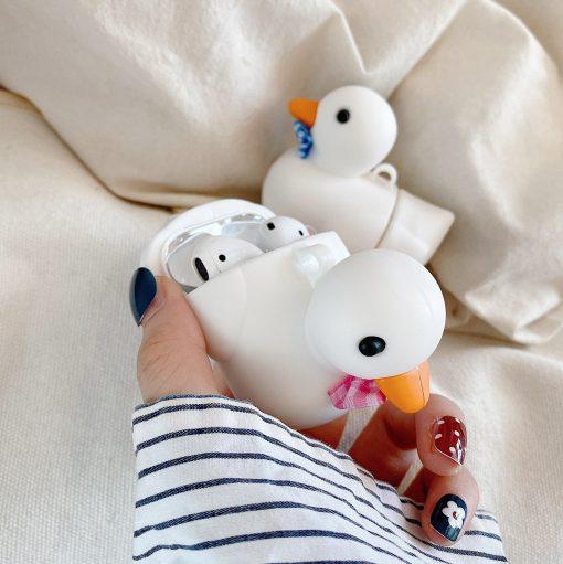 Duck 'Bowtie' Premium AirPods Case Shock Proof Cover