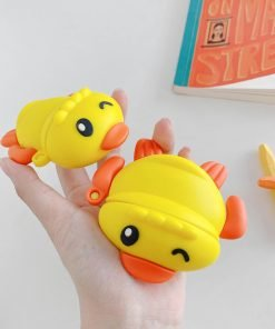 Swimming Yellow Ducky Premium AirPods Pro Case Shock Proof Cover