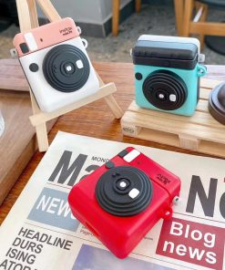 Cute Polaroid Camera Premium AirPods Pro Case Shock Proof Cover