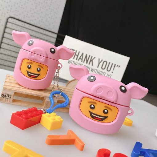 Lego Man 'Pig' Premium AirPods Pro Case Shock Proof Cover