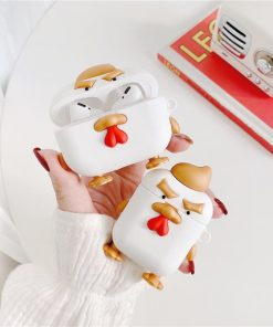 Angry Golden Chicken Premium AirPods Pro Case Shock Proof Cover