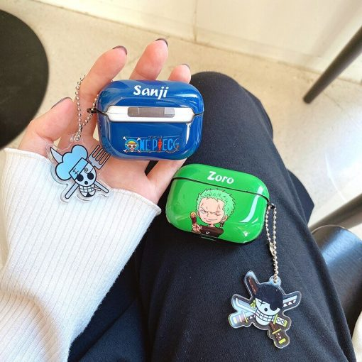 One Piece 'Sanji   Zoro   2.0' AirPods Pro Case Shock Proof Cover