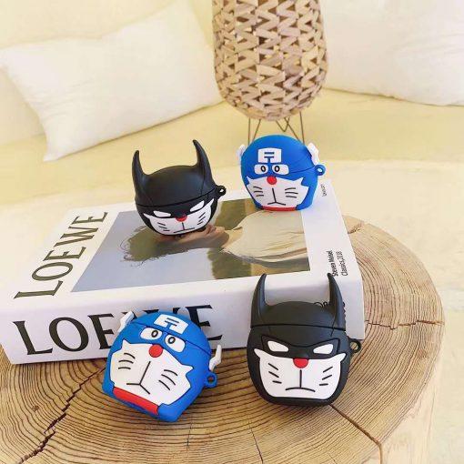 Doraemon 'Batman' Premium AirPods Pro Case Shock Proof Cover