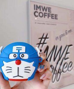 Doraemon 'Captain America' Premium AirPods Pro Case Shock Proof Cover
