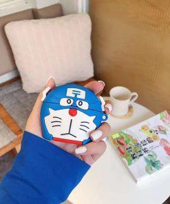Doraemon 'Captain America' Premium AirPods Case Shock Proof Cover