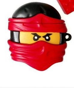 Lego Man 'Ninja | Red' Premium AirPods Pro Case Shock Proof Cover