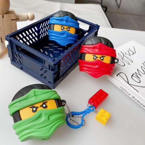 Lego Man 'Ninja | Green' Premium AirPods Pro Case Shock Proof Cover