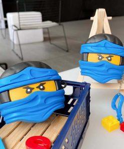Lego Man 'Ninja   Blue' Premium AirPods Pro Case Shock Proof Cover