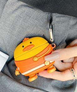 Shin Chan 'Duck | Space Suit' Premium AirPods Pro Case Shock Proof Cover