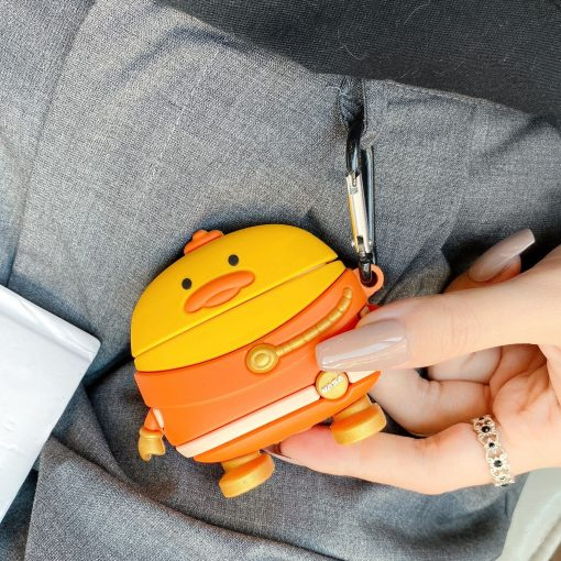 Shin Chan 'Duck | Space Suit' Premium AirPods Case Shock Proof Cover