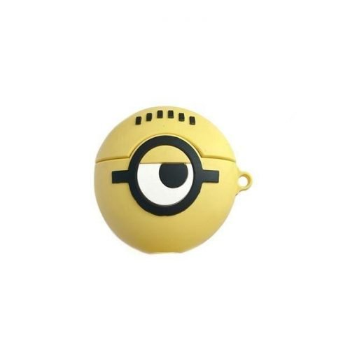 Minions 'Round' Premium AirPods Case Shock Proof Cover