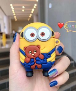 Minions 'Holding a Bear' Premium AirPods Case Shock Proof Cover