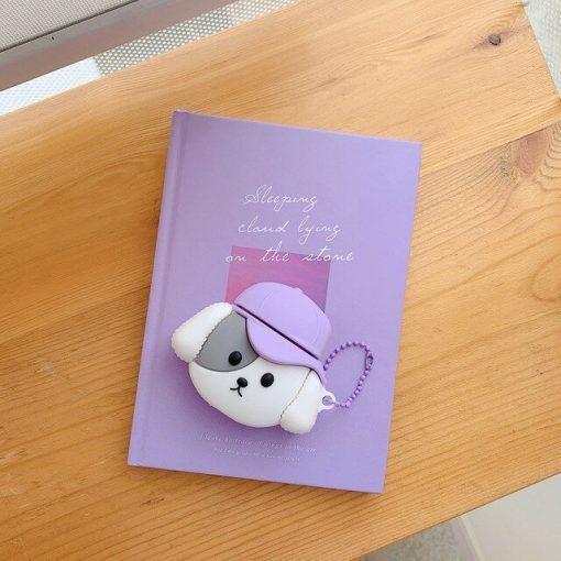 Cute Puppy 'Cap' Premium AirPods Pro Case Shock Proof Cover