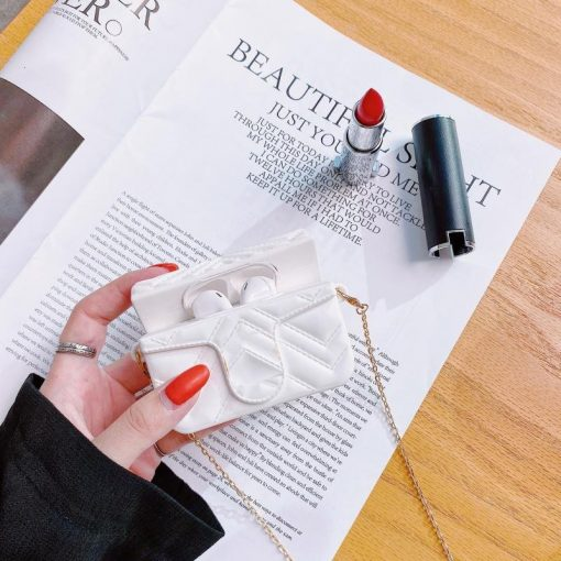 Europe Retro Luxury Mini Bag AirPods Case Shock Proof Cover