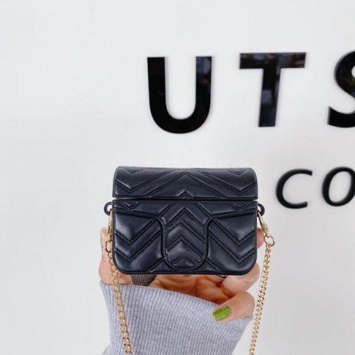 Europe Retro Luxury Mini Bag AirPods Pro Case Shock Proof Cover