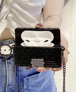 Classic Retro Luxury Mini Bag Premium AirPods Pro Case Shock Proof Cover