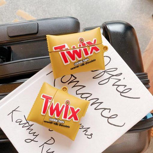 Twix Premium AirPods Case Shock Proof Cover