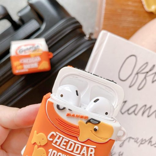 Goldfish Baked Cheddar Crackers Premium AirPods Case Shock Proof Cover